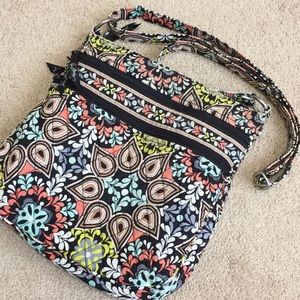 Vera Bradley Large Crossbody in Sierra Stream